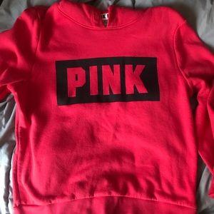 Red PINK Hoodie M